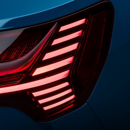 Audi e-tron headlights